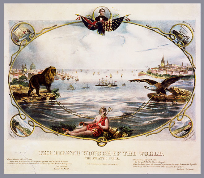 Transatlantic Cable Ad